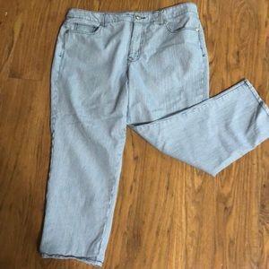 Vintage America Cropped Jeans